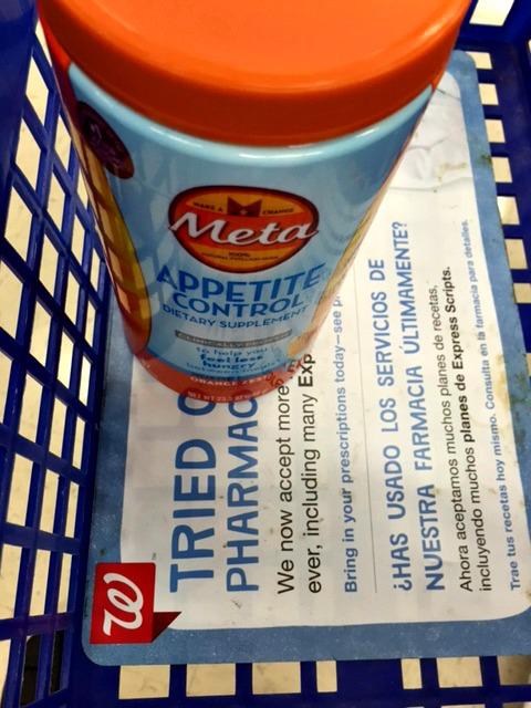 Meta Appetite Control @Walgreens #MetaAppetiteControl #IC #ad