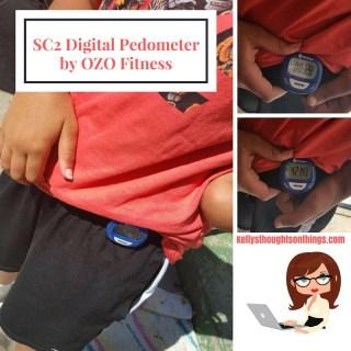 Getting My Walk On with SC2 Digital Pedometer