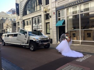 Chauffeured Limousine For Weddings