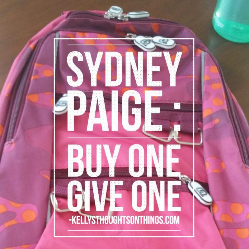 Sydney Paige- Buy One Give One~