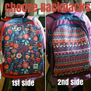 Two Backpacks in ONE! MyChooze.com