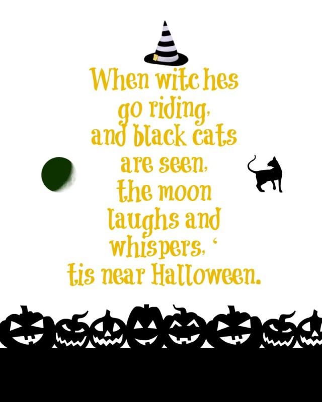 When Witches....