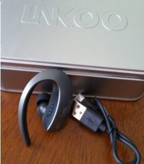 LNKOO Bluetooth Headset Touch-Sensitive Control #LNKOOHEADSET