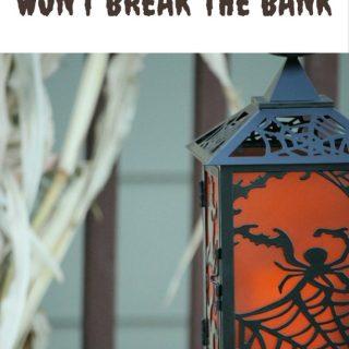 Halloween Decorations That Won't Break The Bank