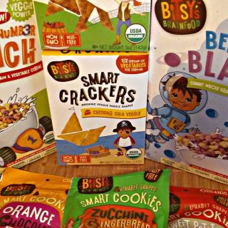 Bitsy's Brainfood makes snacks healthy and tasty!
