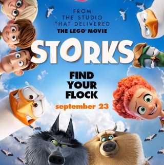 Family Fun Movie ~ Storks Opens On 9/23
