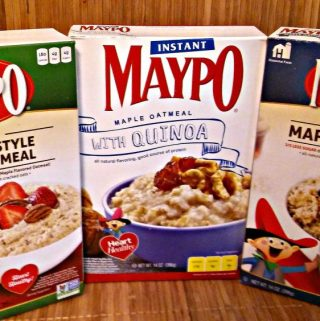 Maypo Maple Oatmeal is perfect for FALL!