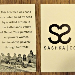 Sashka Co Glass Beaded Bracelets Handmade With Love In Nepal