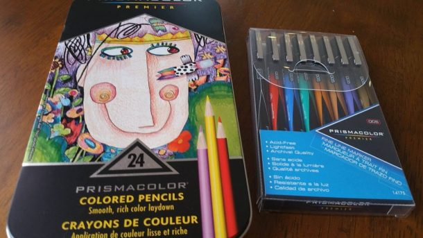Art Therapy At It's Best- Prismacolor Tools