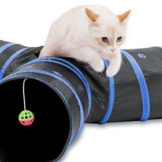Prosper Pet Cat Tunnel #ProsperPet