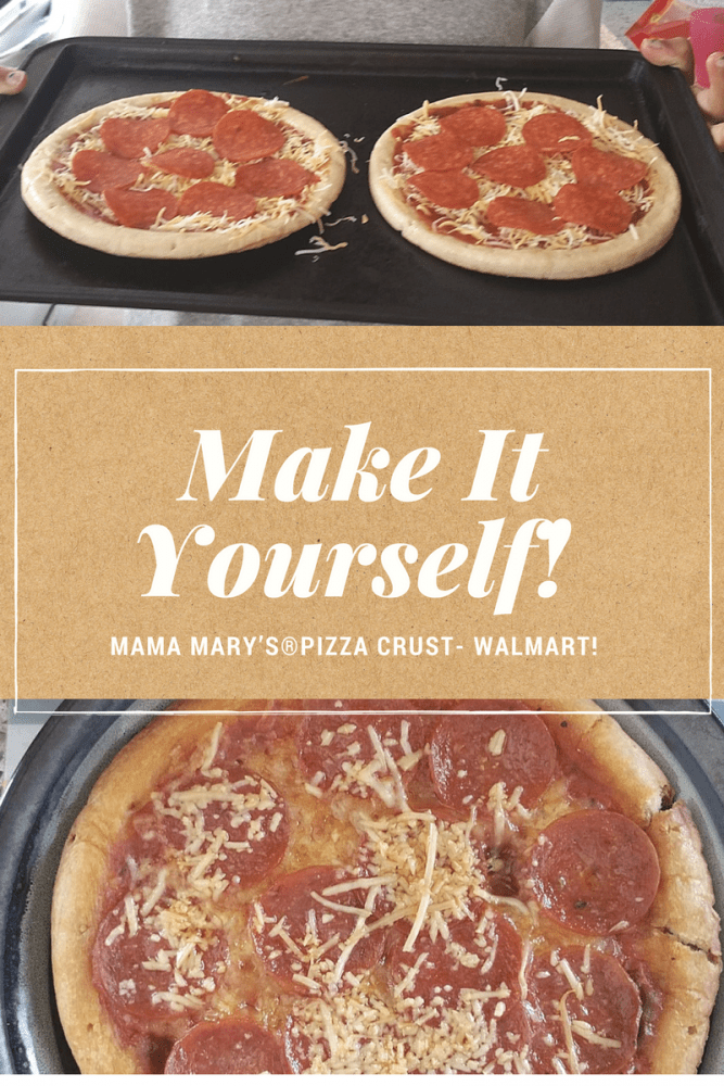 Mama Mary's Pizza Crust Makes The Best Pizza!