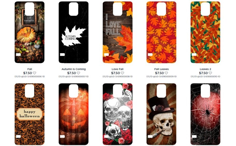 Swaponz Fall halloween designs
