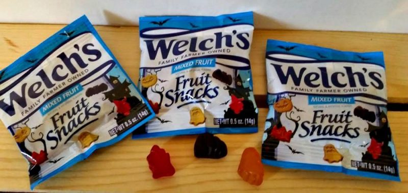 Welch's Halloween shapes