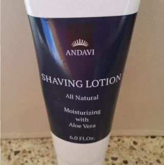 Silky Smooth Skin with Andavi Shaving Lotion