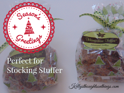 Perfect Stocking Stuffer: Hampshire Toffee