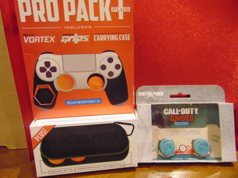 KontrolFreek Gaming Accessories -Stocking Stuffers For The Video Gamer