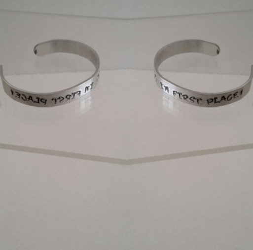 bedazzled customized bracelets