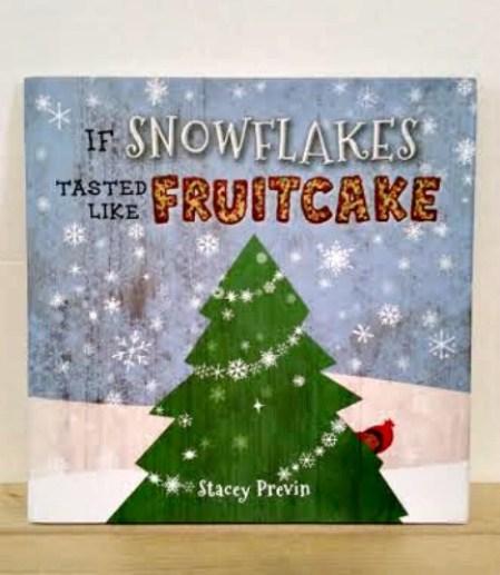 Snowflakes Fruitcake Simon & Schuster