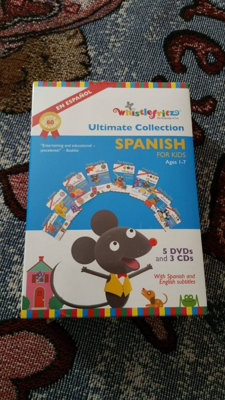 For Kids: The Ultimate Spanish Collection of 5 DVDs + 3 CDs!