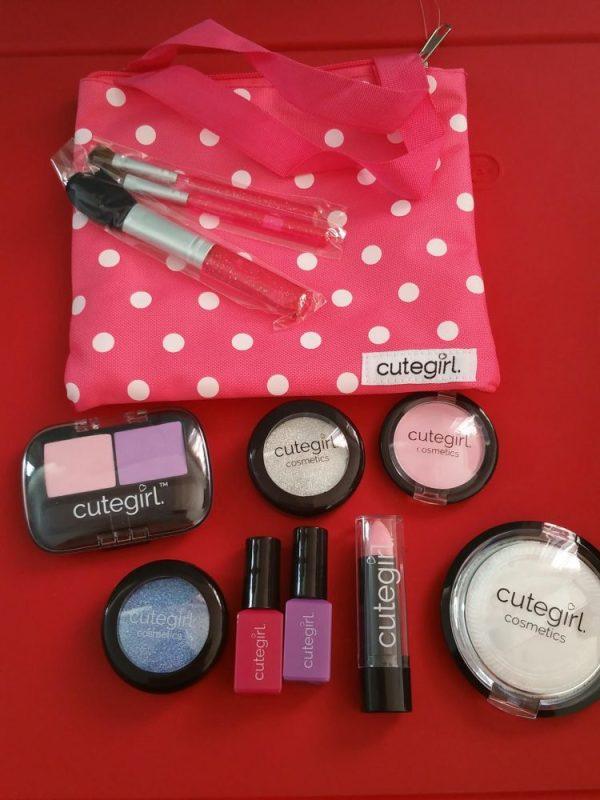 Pretend Play Makeup Set by Cutegirl Cosmetics