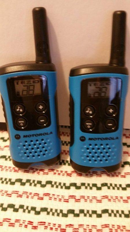 Family Fun with Motorola Talkabout Walkie Talkies