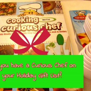 Do you know a Curious Chef? Kids Cookbook and Utensils
