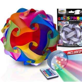 Geosphere – Is It A Puzzle? Is It A Lamp? It's All In One!