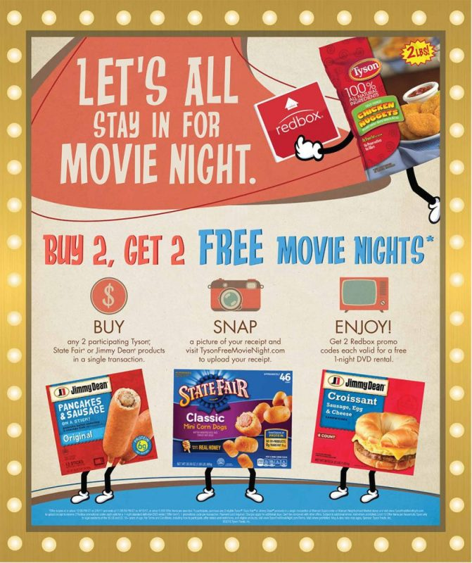 Winter To Go With Redbox and Walmart!