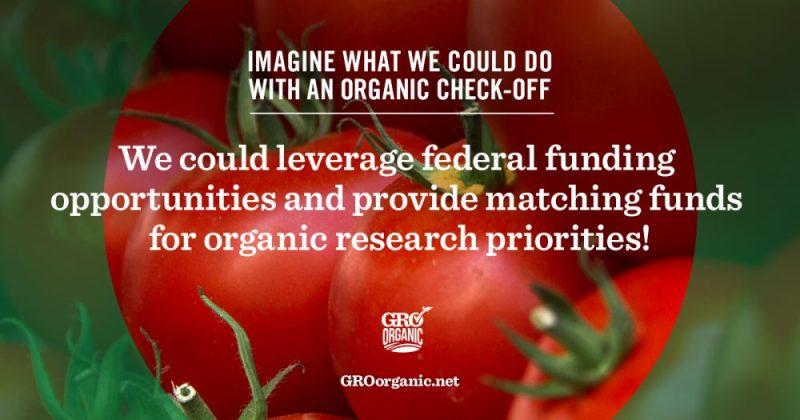 Organic food check-off program