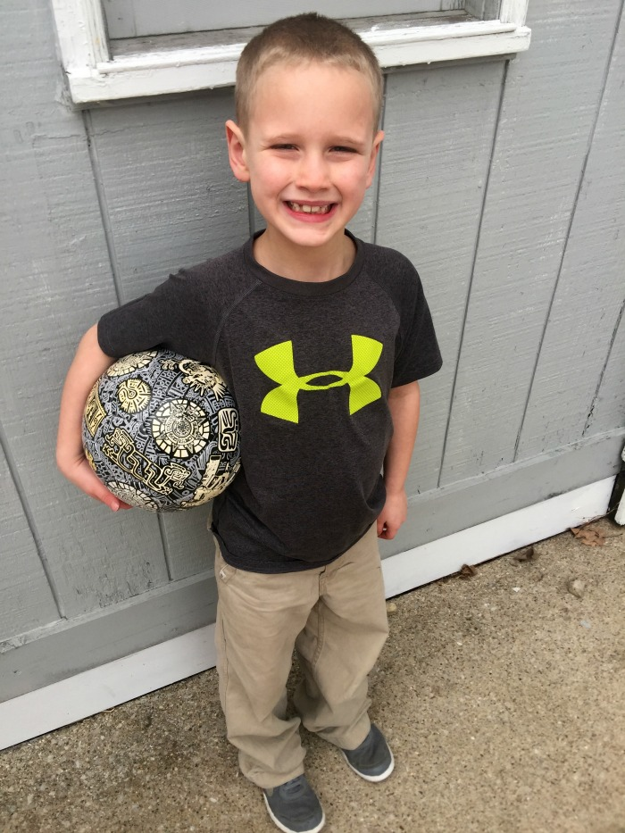 The Aztec Soccer Ball