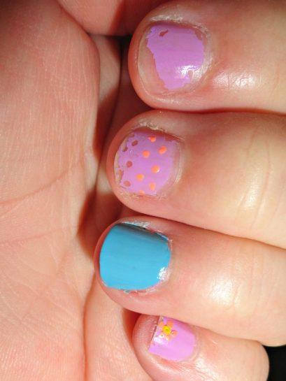 Spring Sally nail polish