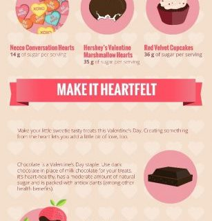 Sugar Facts & Valentine Treat Alternatives #infographic