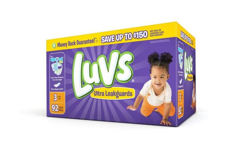 $2 Coupon for Luvs Diapers- Printable