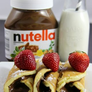 7 Best Nutella Pancakes for Shrove Tuesday 2017 (Number Six is Mind-Blowing)