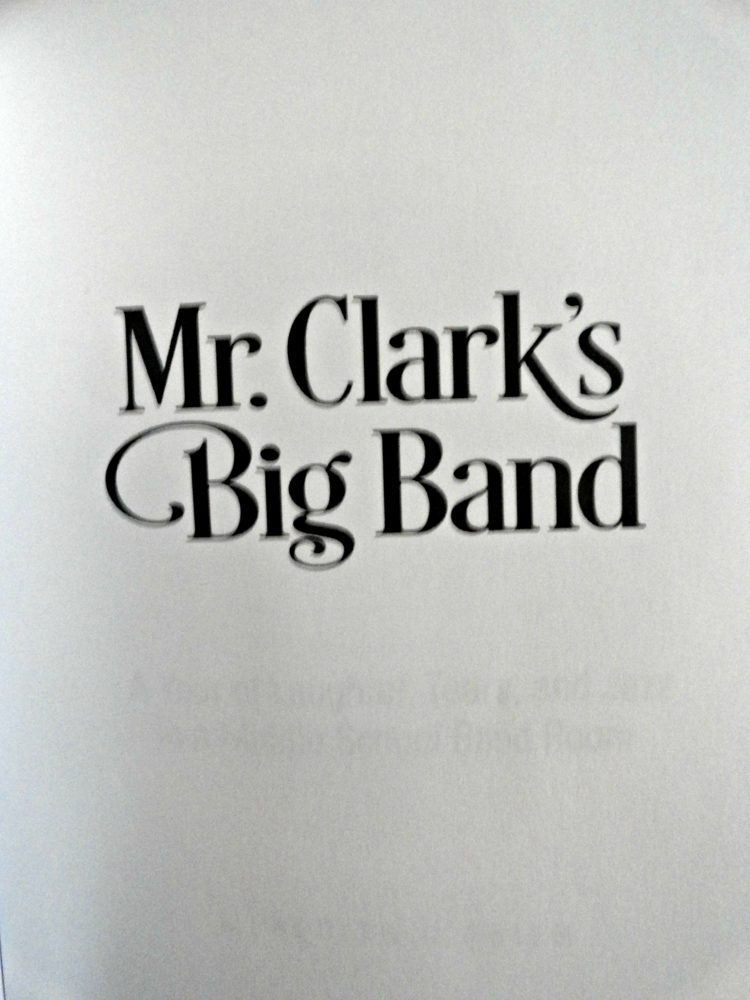 Mr Clark's band