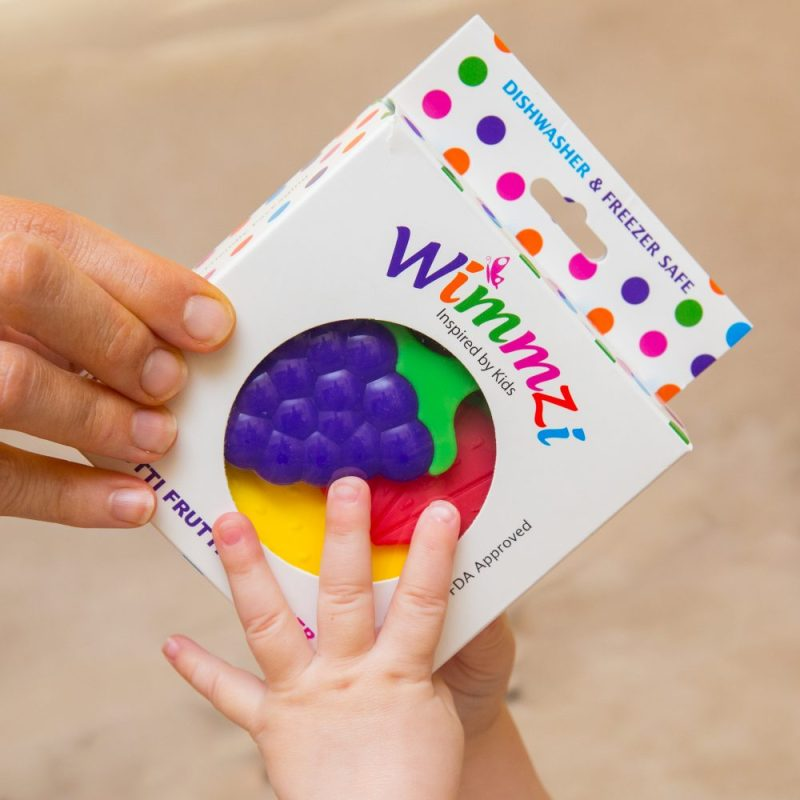 Is Your Baby Teething ...Wimmzi Got You, Mom!