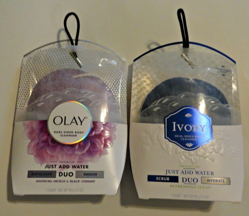 DUO cleansers two sided