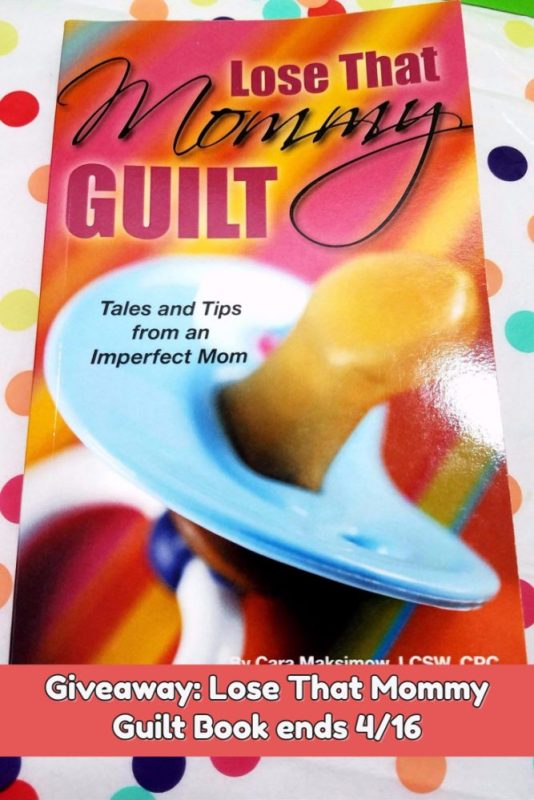 Enter the Lose That Mommy Guilty Book ends 4/16