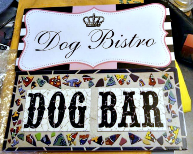 Dog Bar Signs
