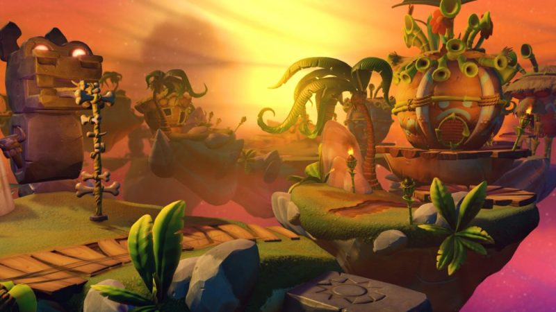 NEW: Skylanders Imaginators Cursed Tiki Temple Level Pack