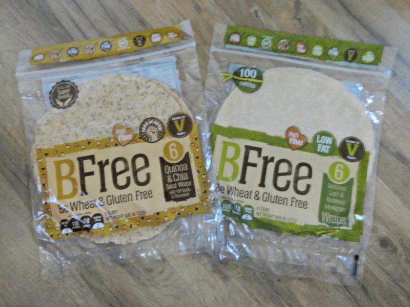 BFree Foods wraps