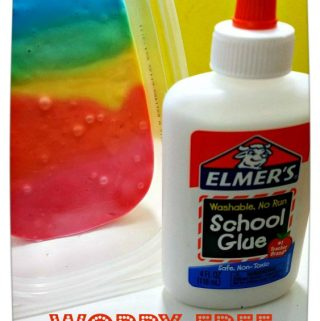 Get Slimed!  Worry-Free Slime Recipe from Elmer's