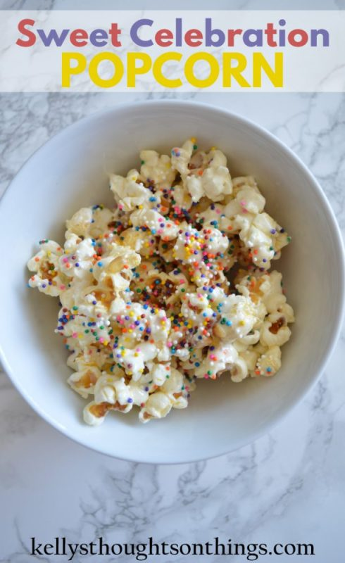 Sweet Celebration Popcorn Recipe