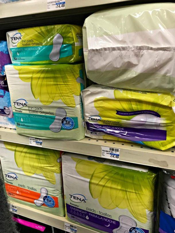 Buy Tena Products at CVS!