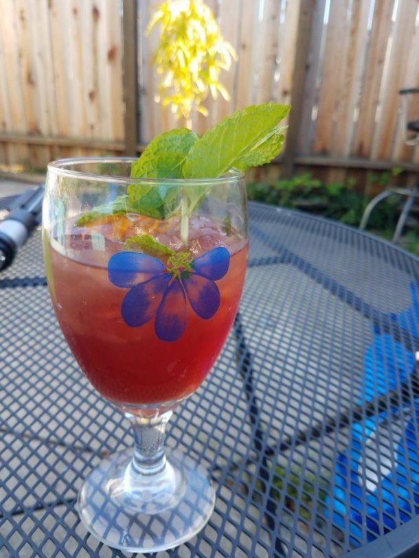Flower & Fruit Iced Tea:Summer Cooking: American Girl Parties Cookbook