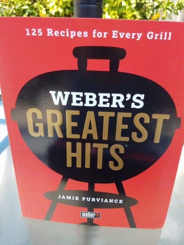 Dad & Weber Go Hand In Hand! Recipe Cookbook