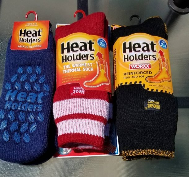 Heat Holders Socks For Dad- Give him something he needs!