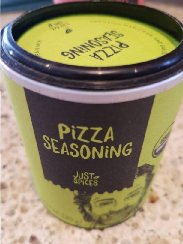 Spice Up Your BBQ with Just Spices Sprinkle the Pizza Seasoning onto your homemade pizza before baking – preferably under the cheese. Fantastic for pizza bread, bruschetta, focaccia, or frozen pizza too!
