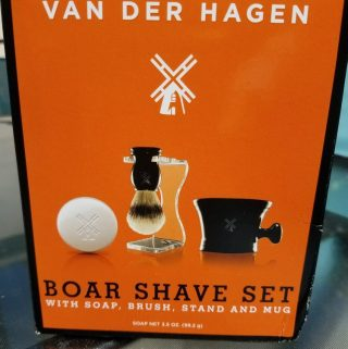 Father's Day Gift Idea: Van Der Hagen Boar Shave Set