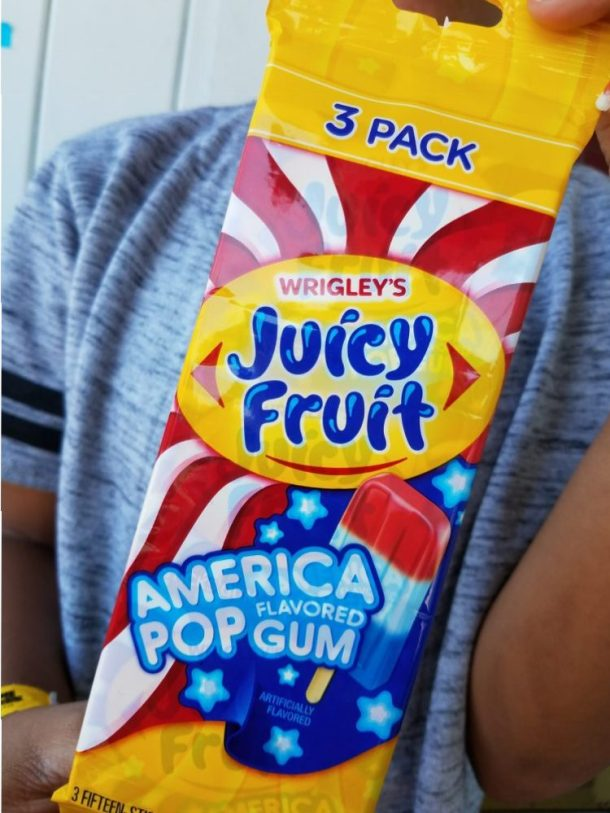 Yummy Treat for your 4th of July Party! America Pop Flavored Gum